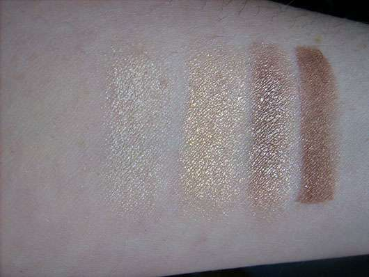 Terra Naturi Quattro Eyeshadow, Farbe: 02 Golden Eyes