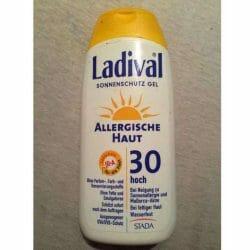 Produktbild zu Ladival Sonnenschutz Gel Allergische Haut LSF30