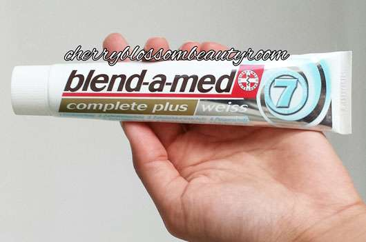 """<strong>blend-a-med</strong> complete plus """"weiss"""" Zahncreme"""