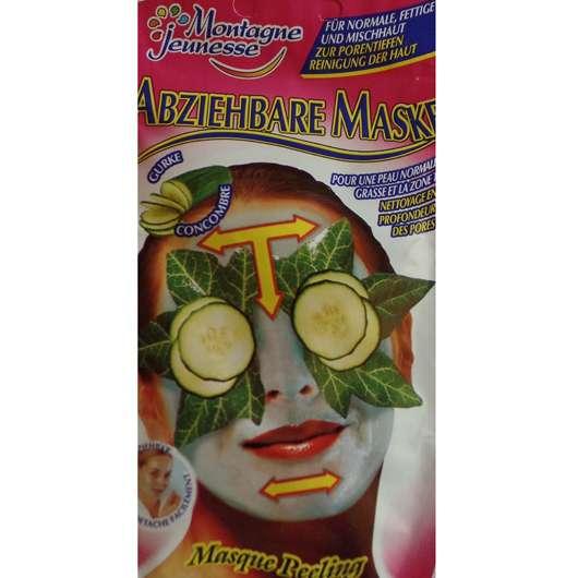 "Montagne Jeunesse Abziehbare Maske ""Gurke"""
