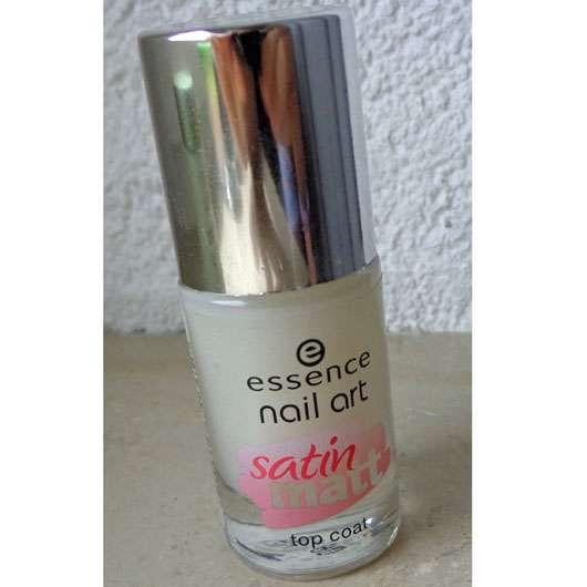 <strong>essence nail art</strong> satin matt top coat - Farbe: 26 matt about you!