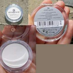Produktbild zu essence mono eyeshadow – Farben: 14 chilli vanilli & 16 triple choc