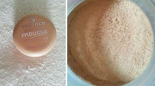 essence soft touch mousse make-up, Farbe: 04 matt ivory