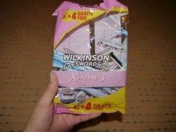 Produktbild zu Wilkinson Sword Xtreme 3 Beauty Einwegrasierer