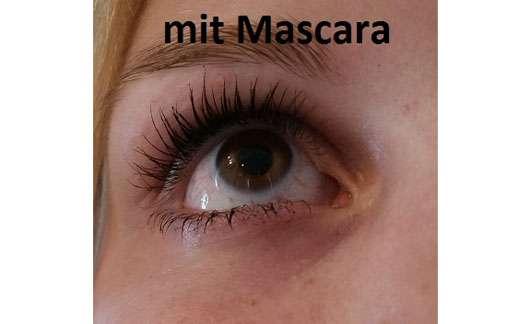 Misslyn maximEYES volume mascara, Farbe: Black