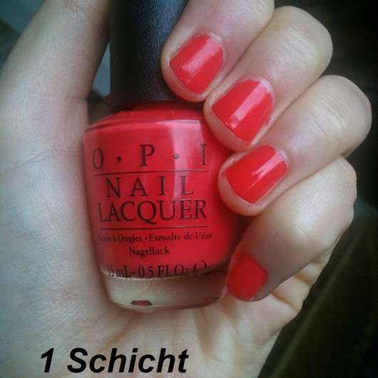 OPI Nail Lacquer, Farbe: Aloha from OPI (LE)