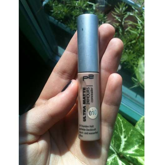 p2 ultra matte 24 hours concealer, Farbe: 010 matte shell