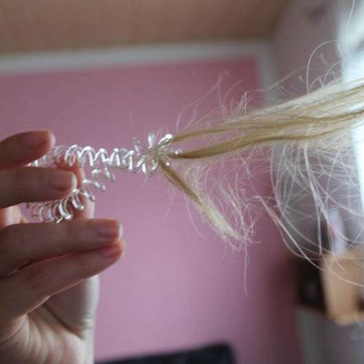 invisibobble the traceless hair ring, Farbe: crystal clear