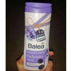 Produktbild zu Balea Dusche & Creme Pochendes Herz (LE)