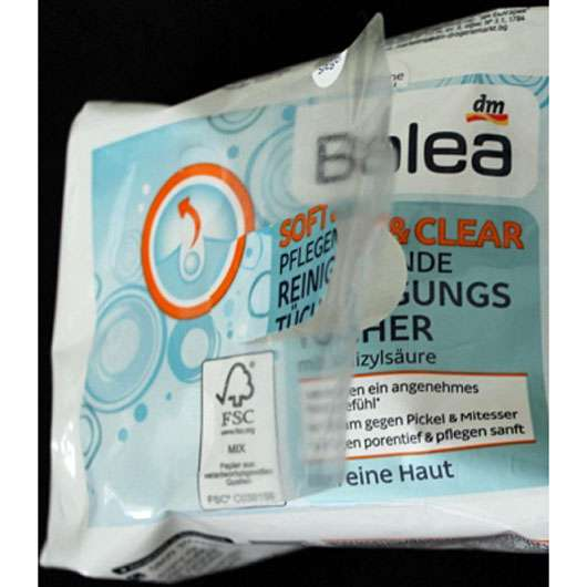Balea Soft & Clear Pflegende Reinigungstücher