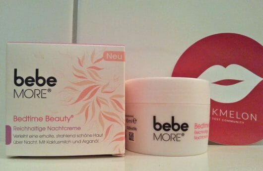 <strong>bebe® More</strong> Bedtime Beauty - Reichhaltige Nachtcreme