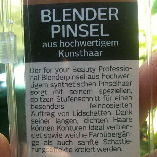 for your Beauty Professional Blenderpinsel