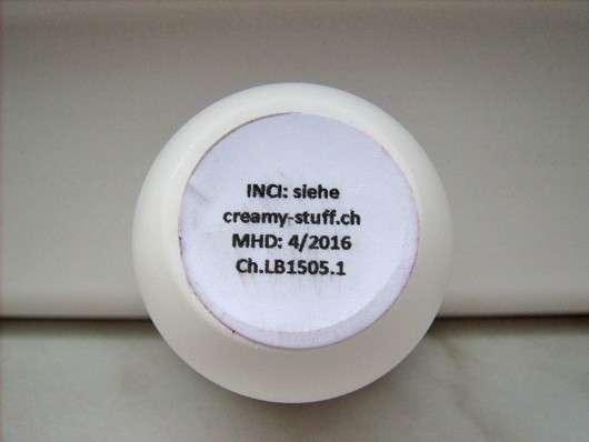 Creamy Stuff Bio-Lipbutter