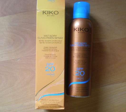 KIKO Wet & Dry Sunscreen Spray SPF 20