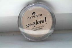 Produktbild zu essence soo glow! cream to powder highlighter – Farbe: 010 look on the bright side