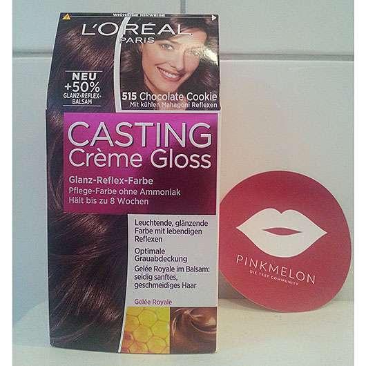 L'Oréal Paris Casting Crème Gloss Glanz-Reflex-Farbe, Farbe: 515 Chocolate Cookie