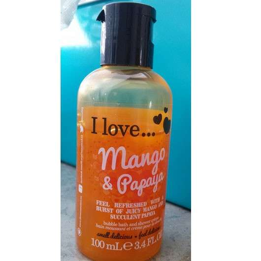 I love... mango & papaya bubble bath & shower crème (LE)