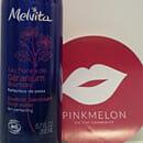 Melvita Bourbon-Geranie Blütenwasser