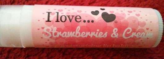 <strong>I love…</strong> Strawberry & Cream Moisturising Lip Balm