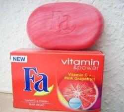 Produktbild zu Fa Vitamin & Power Vitamin C + Pink Grapefruit Festseife
