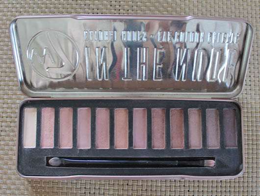 <strong>W7</strong> In The Nude - Natural Nudes Eye Colour Palette