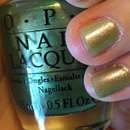 OPI Nail Lacquer, Farbe: Visions Of Georgia Green (LE)