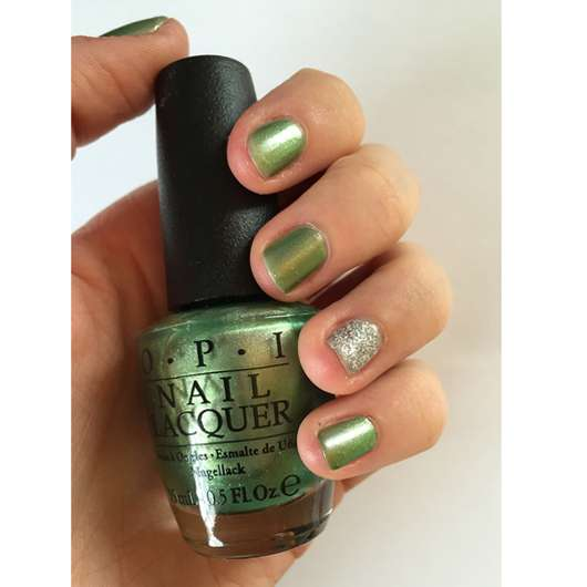 <strong>OPI</strong> Nail Lacquer - Farbe: Visions Of Georgia Green (LE)