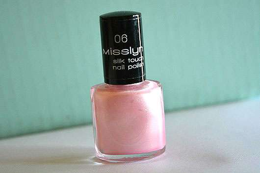 Misslyn silk touch nail polish, Farbe: 06 ballet