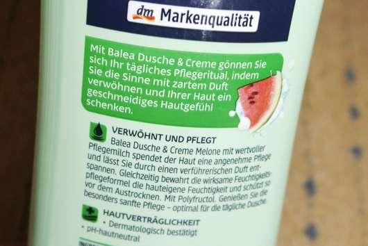 Balea Dusche & Creme Melone