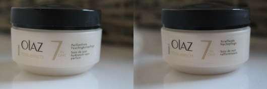Olaz Total Effects Anti-Ageing Feuchtigkeitsspendende Tagespflege Parfümfrei + Straffende Nachtpflege