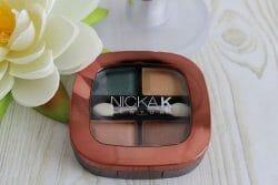 Produktbild zu NICKA K NEW YORK Quad Eyeshadow – Farbe: NY081 Plumas