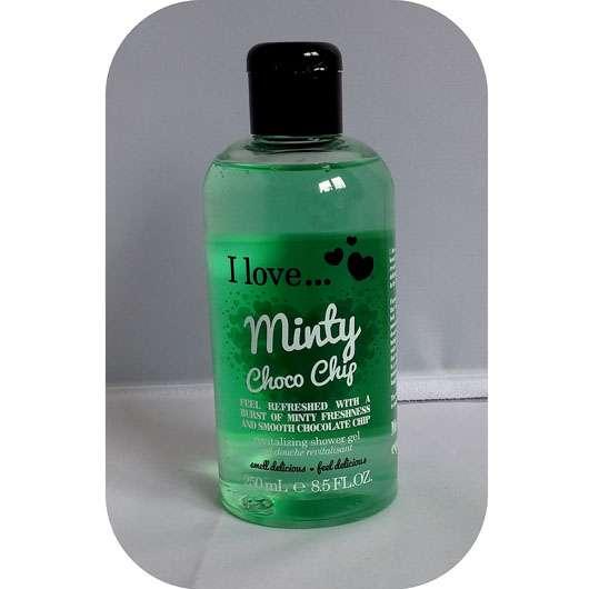 I love… Minty Choco Chip Revitalizing Shower Gel