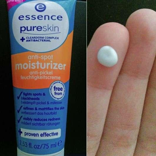 essence pure skin anti-spot moisturizer