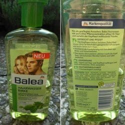 Produktbild zu Balea Haarwasser Birke