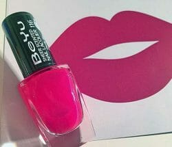 Produktbild zu BeYu Sheer Scented Nail Lacquer – Farbe: 116 Pomegranate Juice (LE)