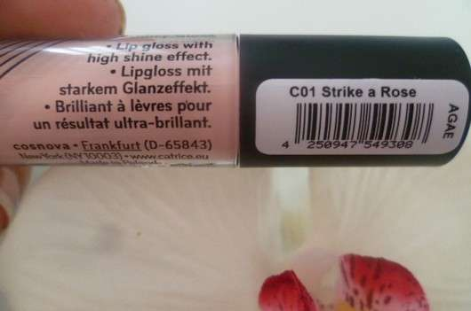 Juicy Gloss, Farbe: C01 Strike A Rose (LE)