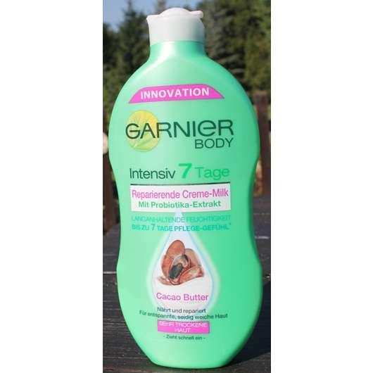 <strong>Garnier Body</strong> Intensiv 7 Tage Reparierende Creme-Milk mit Cacao Butter