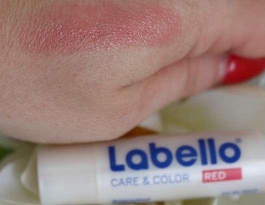 Labello Care & Color, Farbe: Red