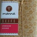 """Manna """"Spanische Geranien"""" Seife (LE)"""