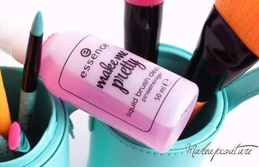 essence make me pretty liquid brush cleanser (LE)