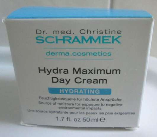 Dr. med. Christine Schrammek Hydra Maximum Day Cream