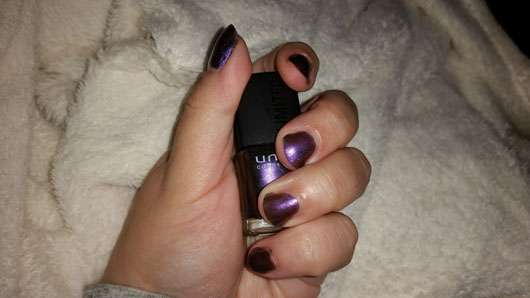 "uma cosmetics ""Why not, wild hot!"" Nail Polish, Farbe: 02 exotic purple (LE)"