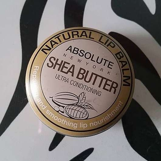"ABSOLUTE NEW YORK Natural Lip Balm ""Shea Butter"""