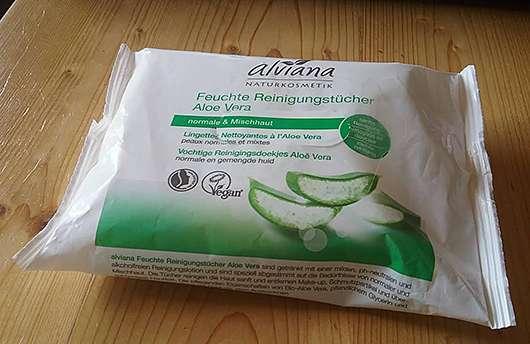 alviana Feuchte Reinigungstücher Aloe Vera
