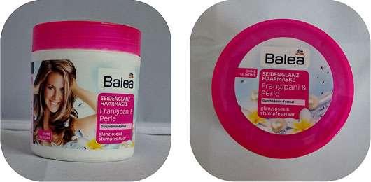 Balea Seidenglanz Haarmaske Frangipani & Perle