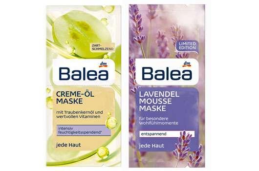 Schnelle Schönmacher – Gesichtsmasken von Balea