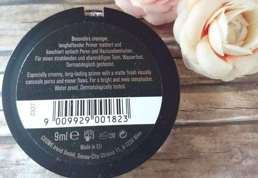 just cosmetics expert anti-shine primer