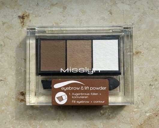 Misslyn Eyebrow & Lift Powder, Farbe: 4 brown sugar