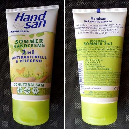 <strong>HandSan</strong> Sommerhandcreme (LE)