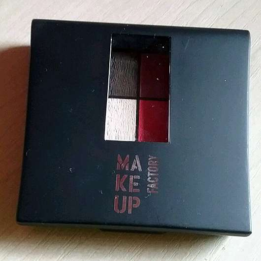 Make up Factory Mat Eye Colors, Farbe: Red Rebel 020 (LE)